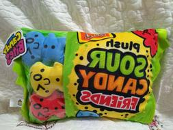 Plush Candy Sour Candy Candy Pillow Stuffed Animal Zipper Po