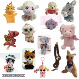 Plush Characters Stuffed Animals Toys Dolls Figures Figurine
