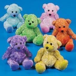 Fun Express Plush Chenille Bears