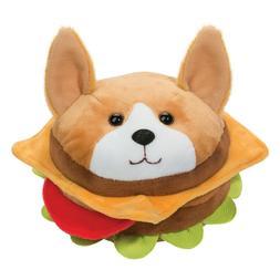 Plush CORGI BURGER Dog Macaroon Stuffed Animal - Douglas Cud