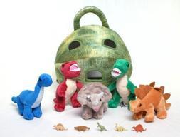 "Unipak 12"" Plush Dinosaur House with Dinosaurs - Five  Stuff"