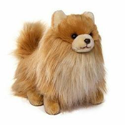 Plush Dog Pomeranian Stuffed Animal Toy Puppy Pet Soft Doll