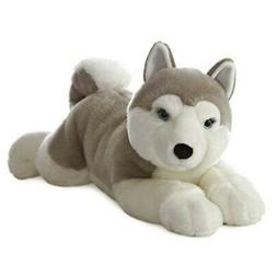 "Plush - Dog - Yukon Husky - Super Flopsie - 27"" Stuffed Anim"