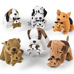 Fun Express Plush Dogs Holding Puppies  {ES-118}
