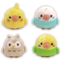 AMUSE Plush Doll Kotoritai Bird 4 set Japan NEW