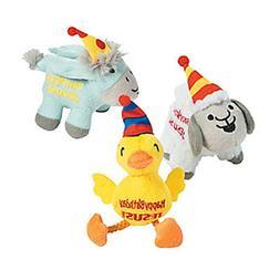 Plush Happy Birthday Jesus Animals