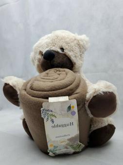 Silver One Plush huggable Animal BEAR 50x60 Throw Blanket 2