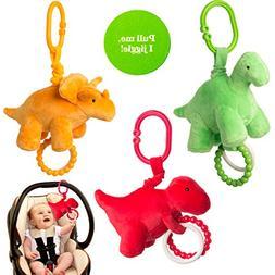 Manhattan Toy Company  Newborn Baby Toys Plush Jiggle Hangin