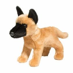 "Douglas Plush Klaus 11"" Belgian Malinois Stuffed Animal dog"