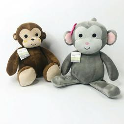 Plush Monkey Ollie Cute Stuffed Animal Curly Tails Soft Cudd