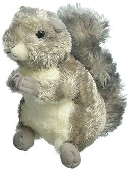 Plush Nutty Gray Squirrel 8 Inch  for Kids Stuffed Animals &
