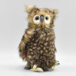 "Hansa Plush - 10"" Youth Brown Owl"