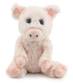 Plush Pig Stuffed Animal Toy - Pink Piggy Soft Doll -8 inch