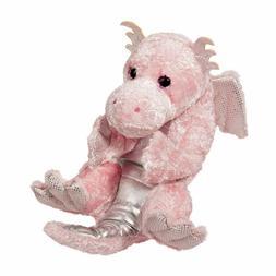Plush PINK DRAGON LIL' HANDFUL Stuffed Animal - by Douglas C