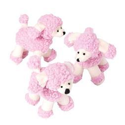 Plush Pink Poodles