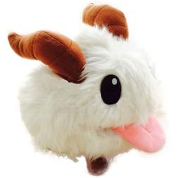 "Plush Poro 10"" inch adorable League of Legends lol freljord"