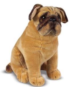 Plush Pug Dog Toy by Melissa & Doug