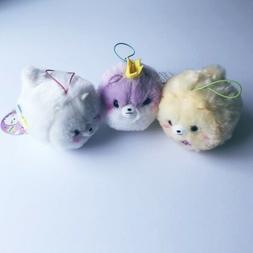 Pometan Plush Set . Kawaii Cute Pomeranian Stuffed Animal