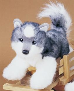 Plush Stuffed Animal: Siberian Husky
