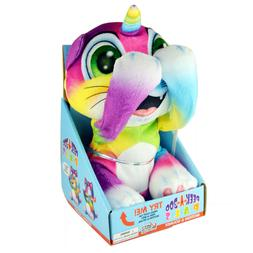 Plush Stuffed Animal Toy with Peek-a-Boo Motion & Sound - Ca