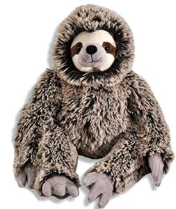 "The Petting Zoo Plush Super Soft Frosted Brown 20"" Three-Toe"