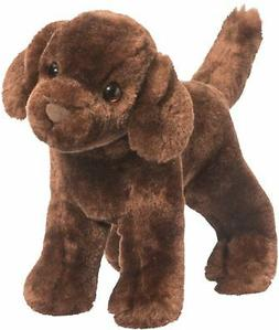 Douglas Plush Sylvia CHOCOLATE LABRADOR Lab Retriever Stuffe