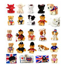 Plush Teddy Bears Puppets Soft Toys Stuffed Animals Boy Girl