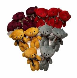 Plush Teddy Bears Stuffed Animals Soft Toy  - Bulk, 4 Colour