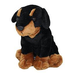 Anico Plush Toy Dog, Stuffed Animal, Rotweiller, 8 Inches Ta