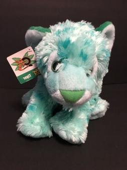 Wild Republic Plush Toy Tiger Bright Green Cuddlekins 2016 S
