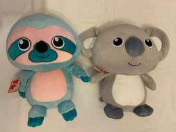 Gund Plush Toys - Stuffed Animals - Koala & Sloth - Lot of 2