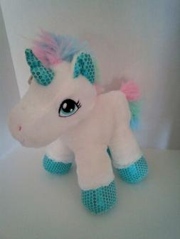 Plush Unicorn, Stuffed Animal Toy, Soft Washable Gift for Gi