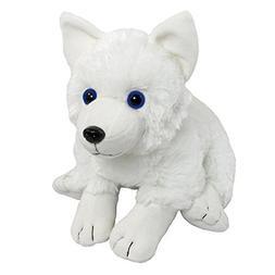 "Wishpets Plush 13"" White Arctic Fox Pup"