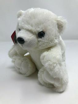 Plush White Polar Bear, Wild Republic Stuffed Animal Bear
