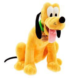 Disney Store Pluto Plush Medium 15 1/2 Inch NEW