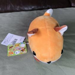 "AMUSE - Pocket Zoo Red Fox Animal Plush Toy 7"" Small NWT"