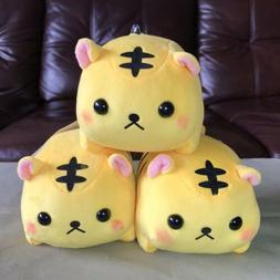 """AMUSE - Pocket Zoo Yellow Tiger Chibi Animal Plush Toy 7"""""""