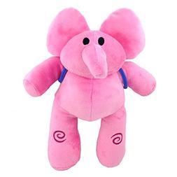 Pocoyo Elly Pink Elephant Pre-School Cartoon Plush Soft Toy
