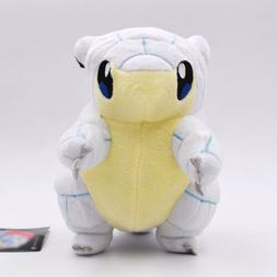 "Pokemon Alola Ice Sandshrew 8"" Animals Plush Doll Stuffed Gi"