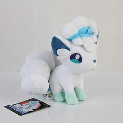 Pokemon Center Alolan Alola Vulpix Plush Doll Stuffed Animal
