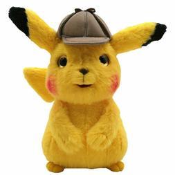 Pokemon Center Plush Doll Detective Pikachu Stuffed Animals