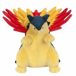 Pokemon Center Typhlosion Plush Doll Soft Stuffed Animal Toy