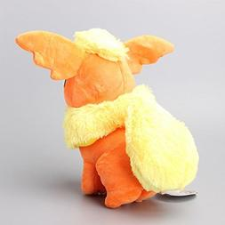 Pokemon Flareon Cute Soft Plush Figure Toy Anime Stuffed Ani