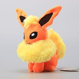 Pokemon Flareon Soft Plush Figure Toy Anime Stuffed Animal 8