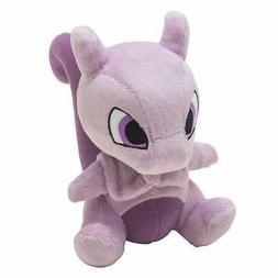 6inch Pokemon Mewtwo Plush Doll Figure Stuffed Animal Soft T