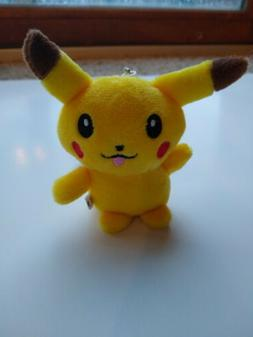 Pokemon Picachu Stuffed Animal Plush Keychain Nintendo Toy |