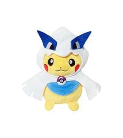 Pokemon Pikachu Lugia Open Mouth Soft Plush Figure Toy Anime
