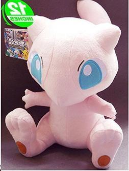 "12"" Pokemon Soft Plush Doll Mew Janpanese Anime Plushies Stu"