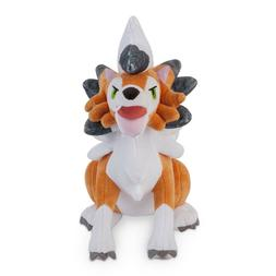 Pokemon Sun Moon Plush Toy Lycanroc  Dusk Form Stuffed Anima