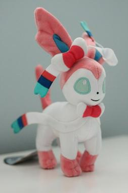 "Pokemon Sylveon 8""  Plush Toy Stuffed Animal Soft Figure Dol"